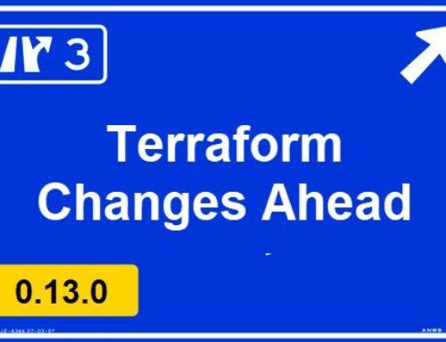 Terraform v0.13 improvements